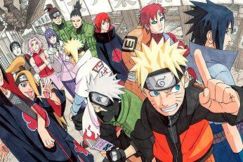 Wallpaper Naruto Illustration, Manga, Naruto Shippuuden