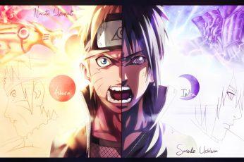 Wallpaper Naruto Illustration, Naruto Shippuden