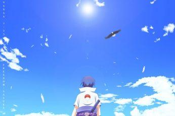 Wallpaper Naruto Uchiha Sasuke Illustration, Naruto Shippuden