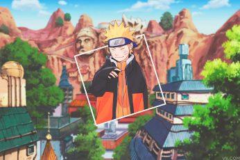 Wallpaper Nature Art Anime Boys, Picture In Picture, Naruto