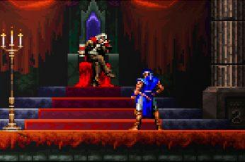 Wallpaper Pixel Art, Video Games, Retro Games, Castlevania