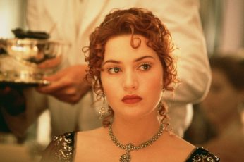 Wallpaper Rose From Titanic Movie, Kate Winslet