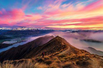 Wallpaper Roys Peak Track, Landscape Photography, Mountain