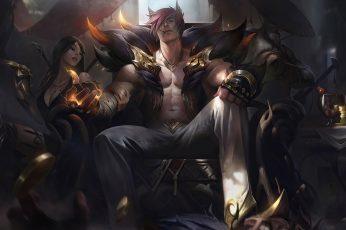Wallpaper Sett League Of Legends, Riot Games