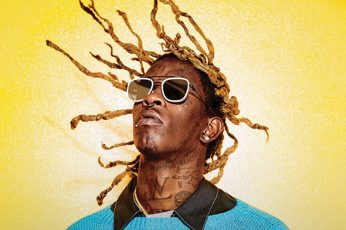 Wallpaper Young Thug, Singers