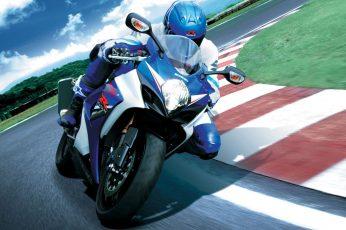 Wallpaper Suzuki Moto Gp