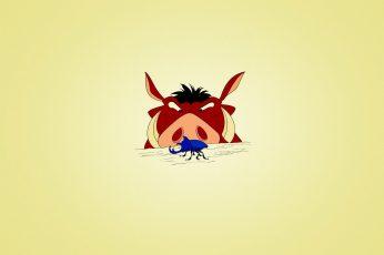 Wallpaper Timon And Pumbaa, Funny