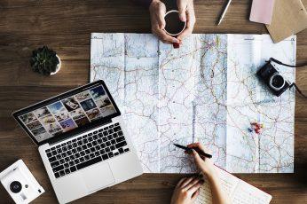 Wallpaper Travel Planning, Maps, West, Journey, Trip, Coffee