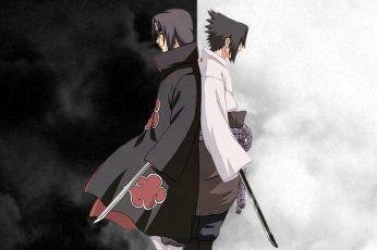 Wallpaper Uchiha Sasuke Naruto Shippuden Uchiha Itachi