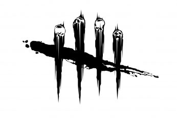 Wallpaper Undefeated Logo, Skull, Monochrome, Minimalism