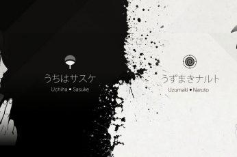 Wallpaper Uzumaki And Uchiha Clan Crest, Uzumaki Naruto