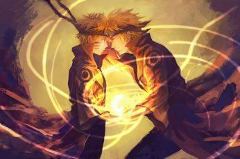 Wallpaper Uzumaki Naruto, Naruto Shippuuden, Namikaze Mina