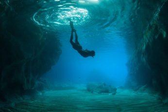 Wallpaper Water, Underwater, Underwater Diving, Free diving
