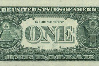 Wallpaper 1 Us Dollar Banknote, Greens, Macro, Life, Eyes