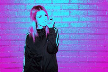 Wallpaper Aesthetic, Neon