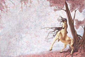 Wallpaper Animal, Horse, Magical, Unicorn