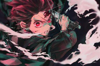 Wallpaper Anime, Demon Slayer Kimetsu No Yaiba, Boy