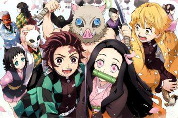 Wallpaper Anime, Demon Slayer Kimetsu No Yaiba, Genya