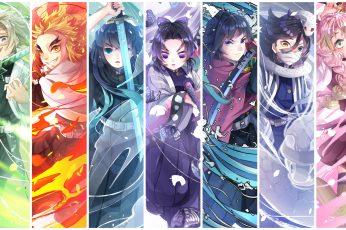 Wallpaper Anime, Demon Slayer Kimetsu No Yaiba, Giyuu