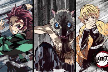 Wallpaper Anime, Demon Slayer Kimetsu No Yaiba, Inosuke
