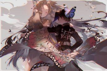 Wallpaper Anime, Demon Slayer Kimetsu No Yaiba, Kanae