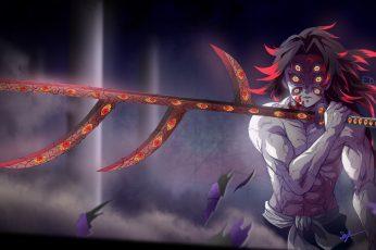 Wallpaper Anime, Demon Slayer Kimetsu No Yaiba, Kokushibo