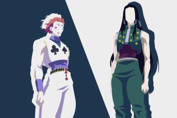 Wallpaper Anime Hunter X Hunter Hisoka