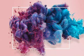 Wallpaper Background, Smoke, Ink