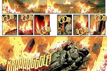 Wallpaper Comics, Invincible Doom!