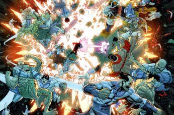 Wallpaper Comics, Invincible fight
