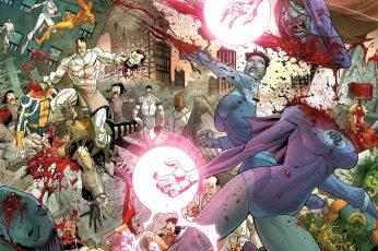 Wallpaper Invincible, Comics