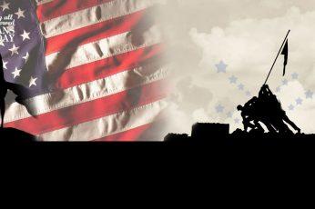 Wallpaper Flag, Usa, Veterans Day, Military