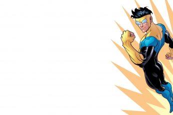 Wallpaper Invincible comic art,