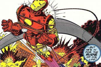 Wallpaper Iron Man, Invincible Iron Man