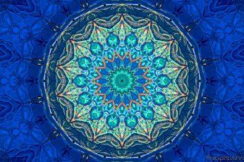 Wallpaper Kaleidoscope, Mandala, Abstract, Colorful, Petal