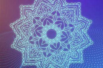 Wallpaper Mandala 3d Art Ornament Circular Ornament