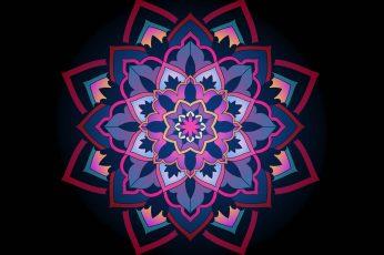 Wallpaper Mandala, Ornament, Patterns, Lace, Openwork