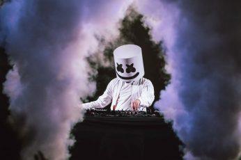 Wallpaper Marshmello, Music, Dj, Hd, Smoke Physical