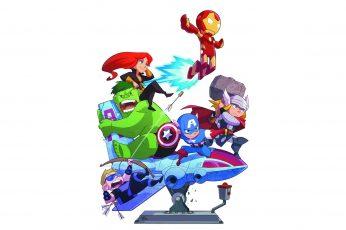 Wallpaper Marvel Avengers Illustration, Iron Man, Marvel