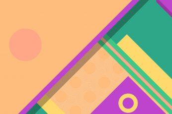 Wallpaper Material Design Pastel Minimalist Triangle