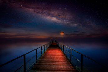 Wallpaper Phenomenon, Stars, Night Sky, Starry Night