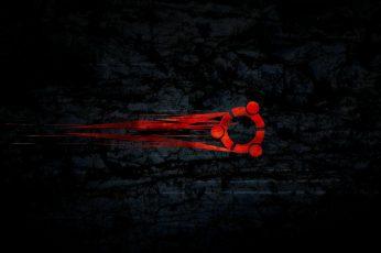 Wallpaper Red Logo Icon, Linux, Gnu, Ubuntu