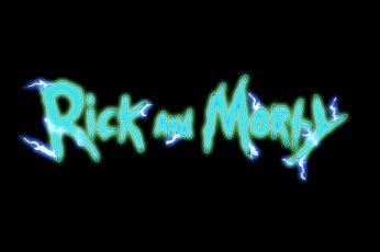 Wallpaper Rick And Morty, Illuminated, Glowing, Lighting