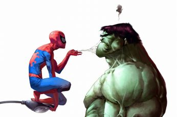 Spider Man And Hulk Wallpaper, Marvel Comics