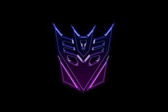Wallpaper Transformers Decepticons Logo Widescreen
