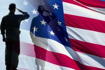 Wallpaper Usa, Flag, Veterans Day, Star, Military