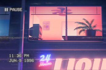 Wallpaper Vaporwave Nostalgia 1996 Year Lofi Future