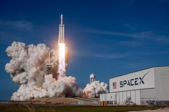 Wallpaper White Rocket Ship, Spacex, Launch Pads, Falcon
