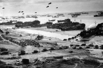 Wallpaper World War Ii, Military, Omaha Beach, D Day