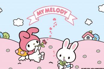 My melody kuromi wallpaper
